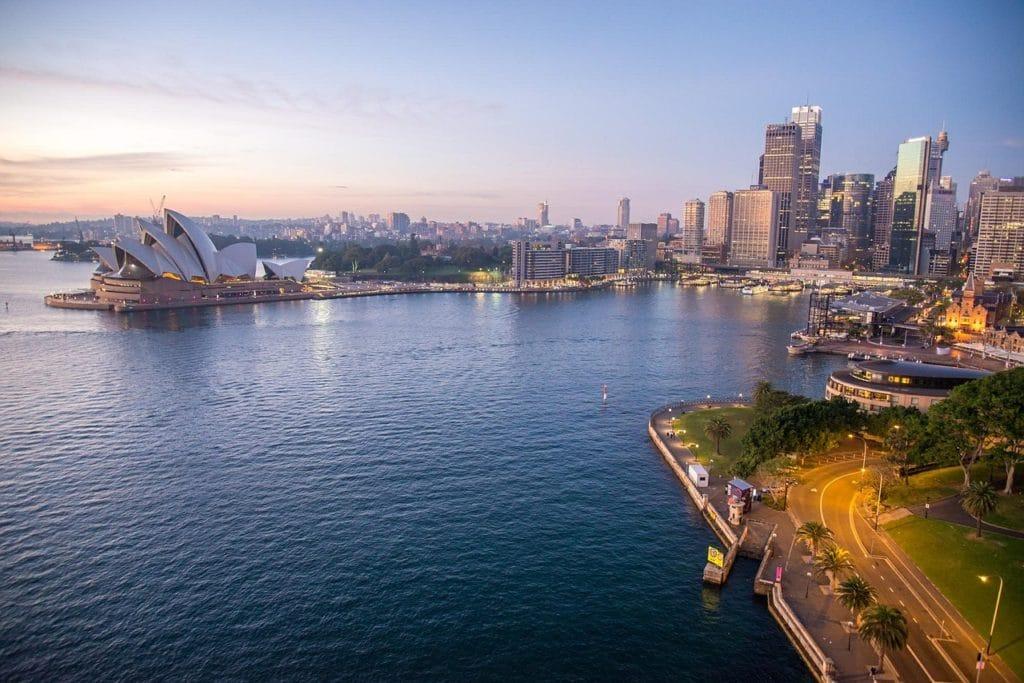 Sylwester w Australii fot. pixabay