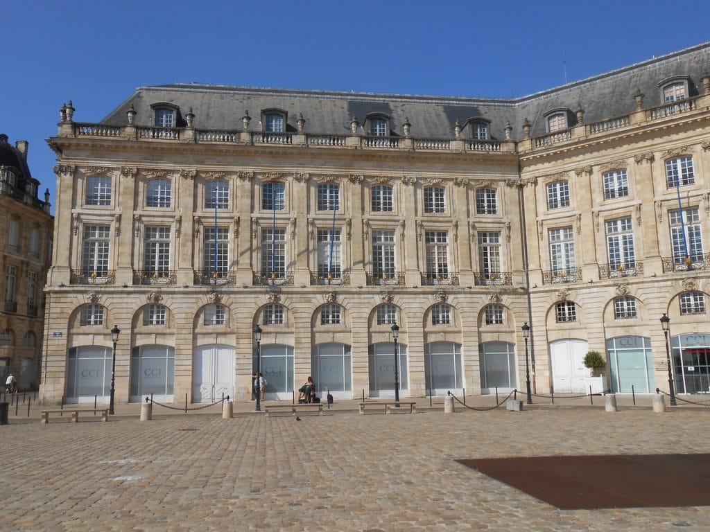 Place de la Bourse, Bordeaux fot. pixabay