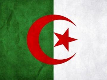 Flaga Algierii