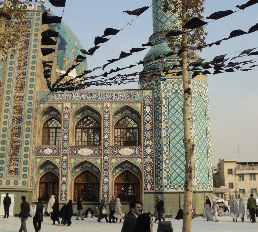 Meczet w Teheranie fot. pixabay