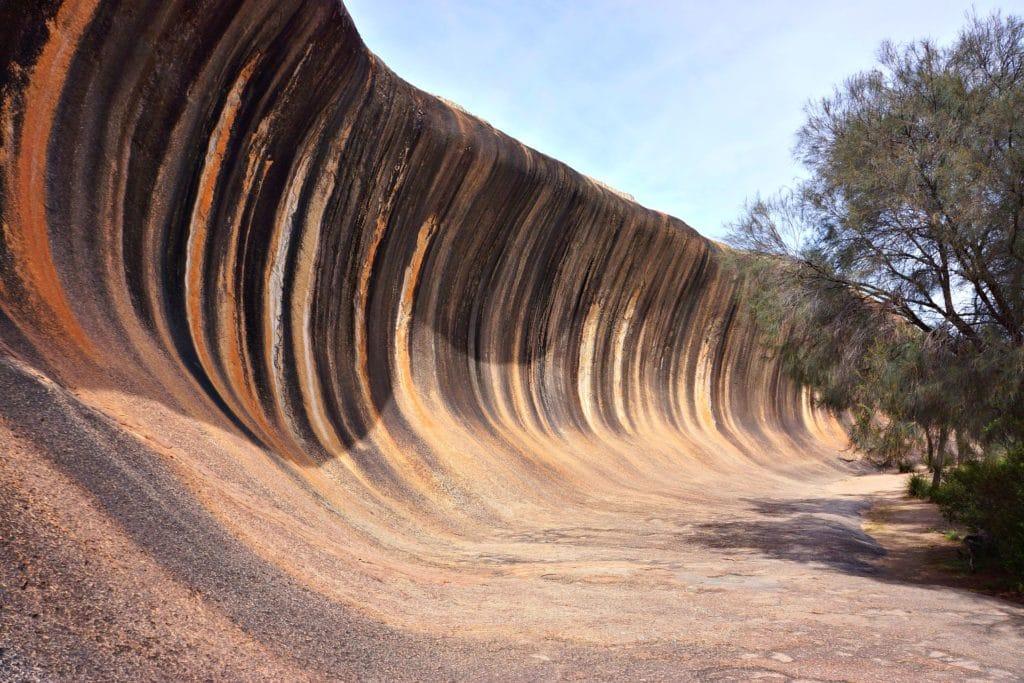Wave Rock, Australia fot. pixabay