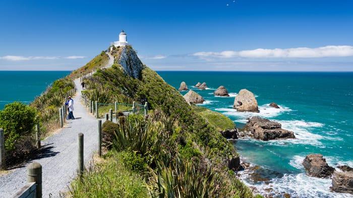 Nugget Point – malownicze wybrzeże Nowej Zelandii