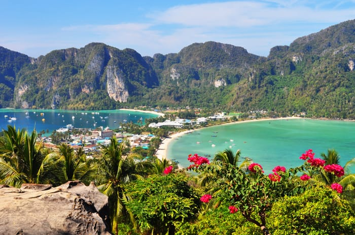 Wyspy Phi Phi fot. pixabay