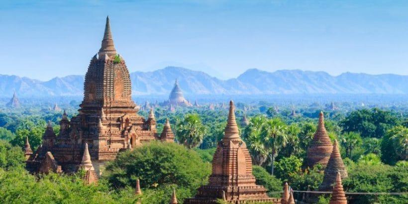 Mniejsze świątynie w Paganie fot. pixabay