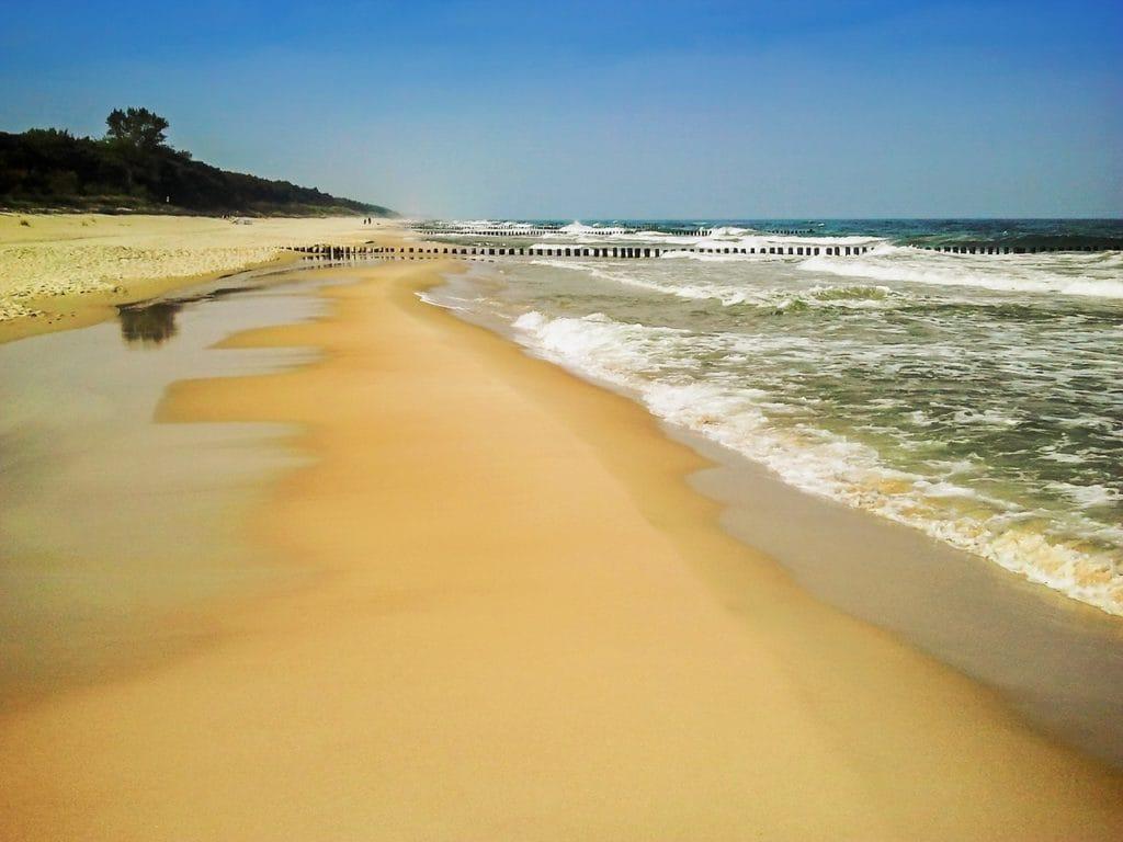 Wybrzeże Morza Bałtyckiego fot. pixabay