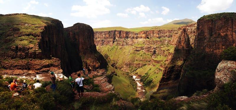 Wioska Semonkong, Lesotho