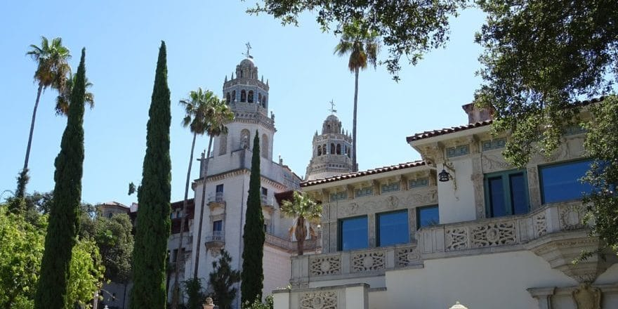 Hearst Castle, San Simeon, California, USA fot. pixabay