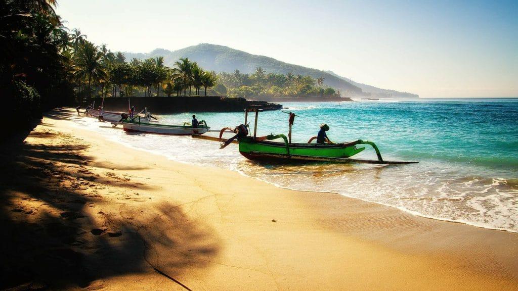 Piaszczyste plaże Bali fot. pixabay