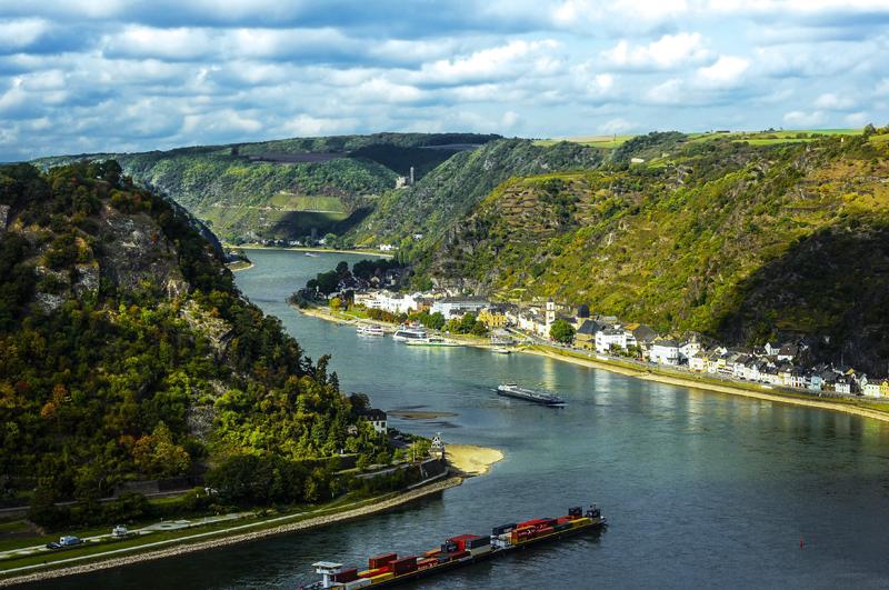 Dolina Renu i wzgórze Loreley, Niemcy
