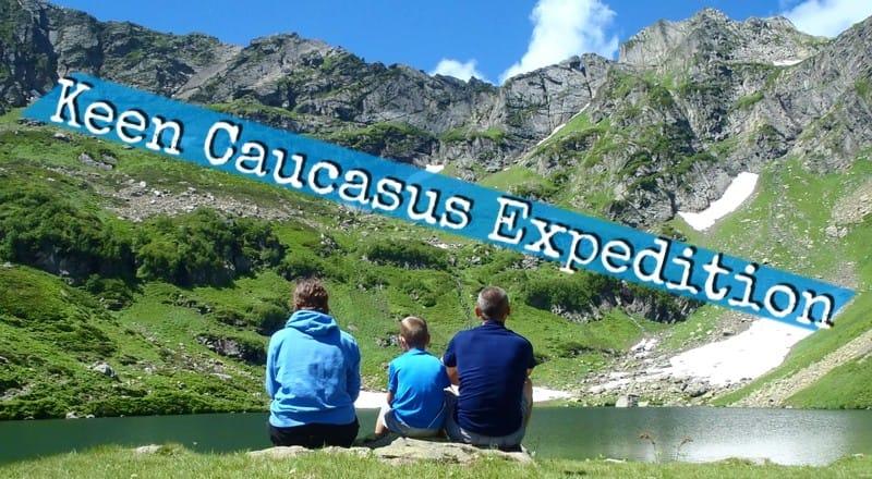 Z dzieckiem w plecaku – Keen Caucasus Expedition