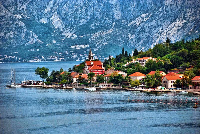 To dla takich widoków warto wybrać się w podróż z Balkan Flexipass