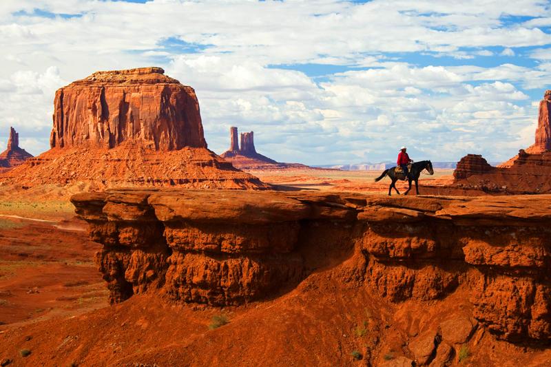 Dolina Pomników stanowiła scenerię dla wielu amerykańskich produkcji o Dzikim Zachodzie