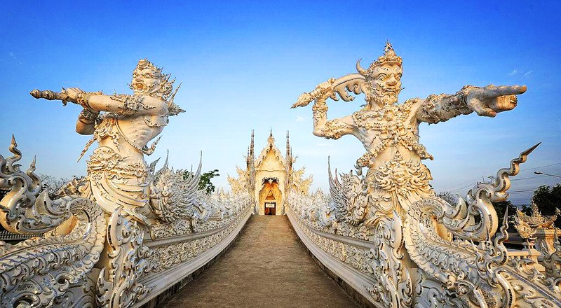 Wat Rong Khun – buddyjska świątynia jakiej jeszcze nigdy nie widziałeś