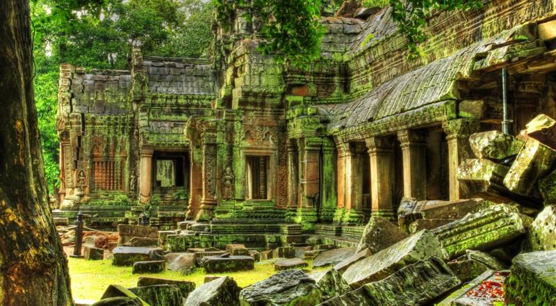 Angkor Wat – największa atrakcja turystyczna Kambodży