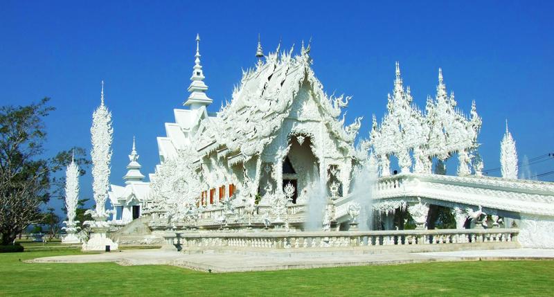 Wat Rong Khun, lepiej znana jako Biała Świątynia