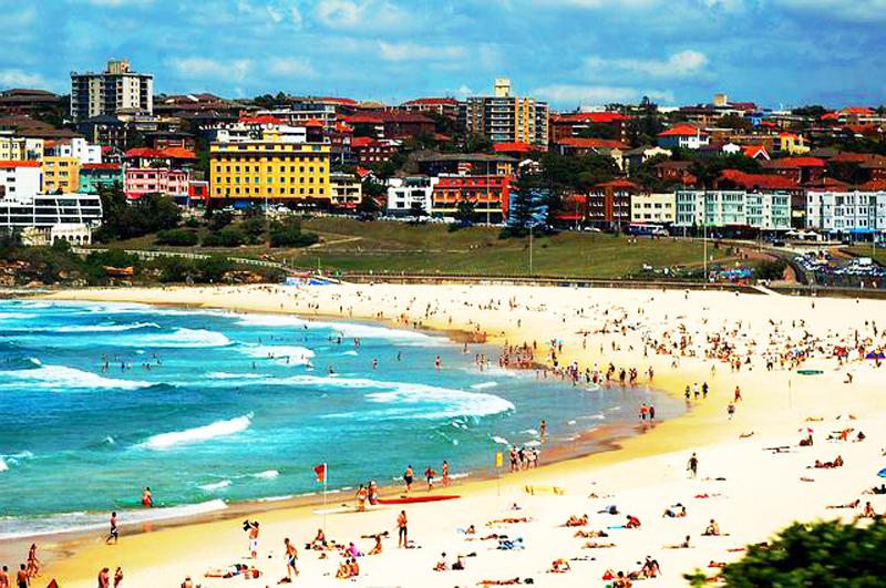 Bondi Beach to jedna z piękniejszych plaż miejskich na świecie