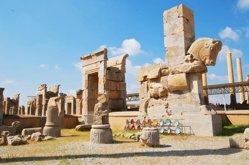 Persepolis to przykład tradycyjnego antycznego miasta Persji