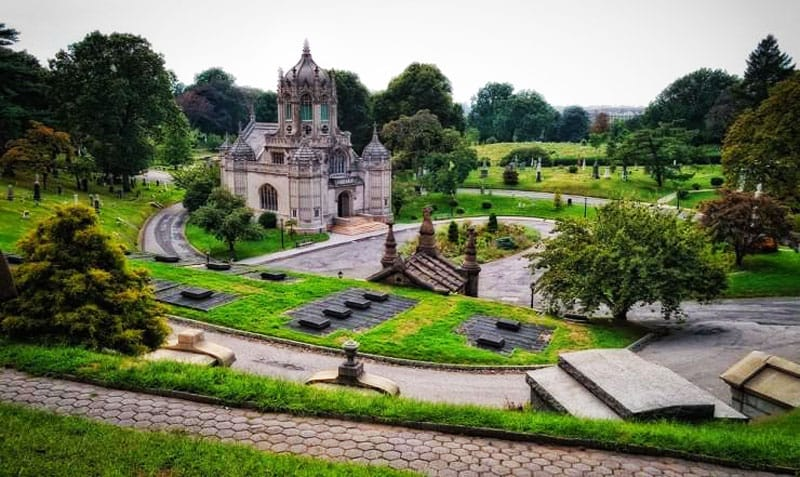 Green-Wood Cemetery, Stany Zjednoczone