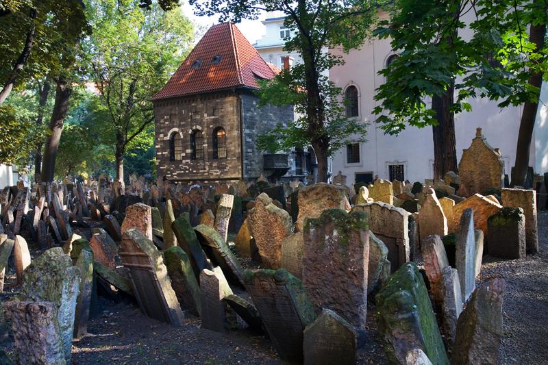 Stary Cmentarz Żydowski, Czechy