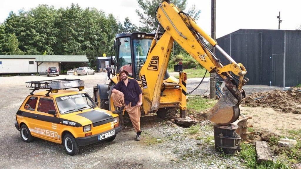 Marcin Obałek, tym razem weteran wypraw traktorem po Ameryce Południowej - słynnej Traktoriady