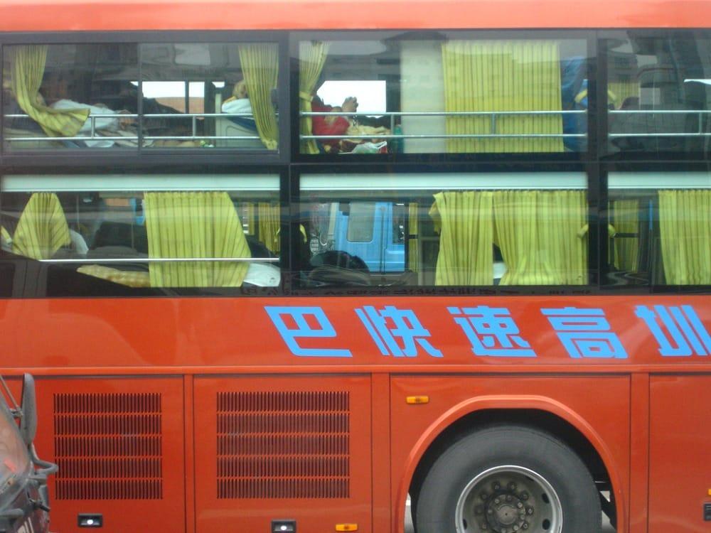 Kuszetka w autobusie tzw. sleeper bus