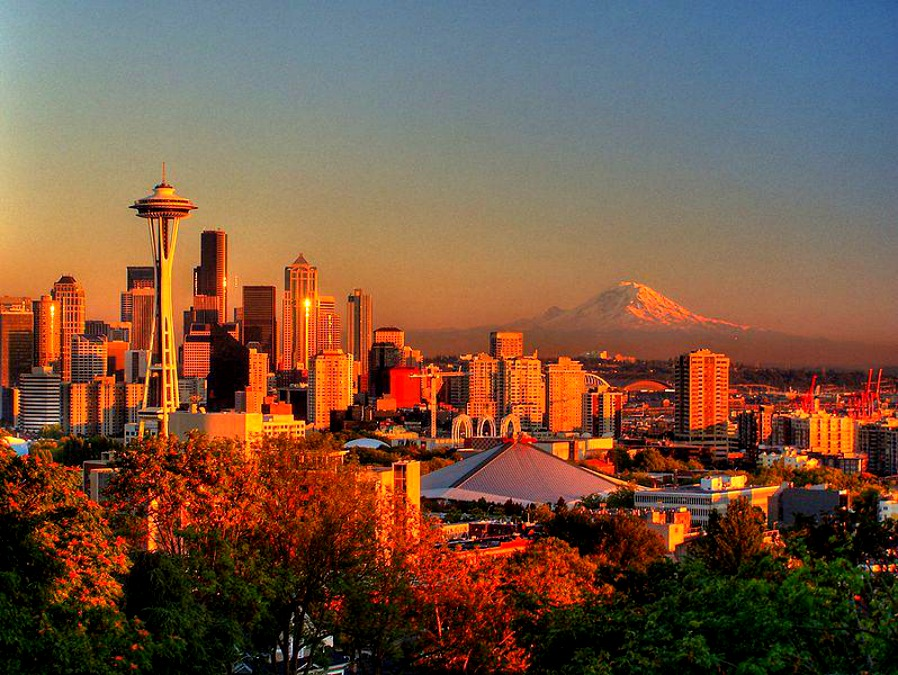 Jesień w Seattle jest przepiękna.