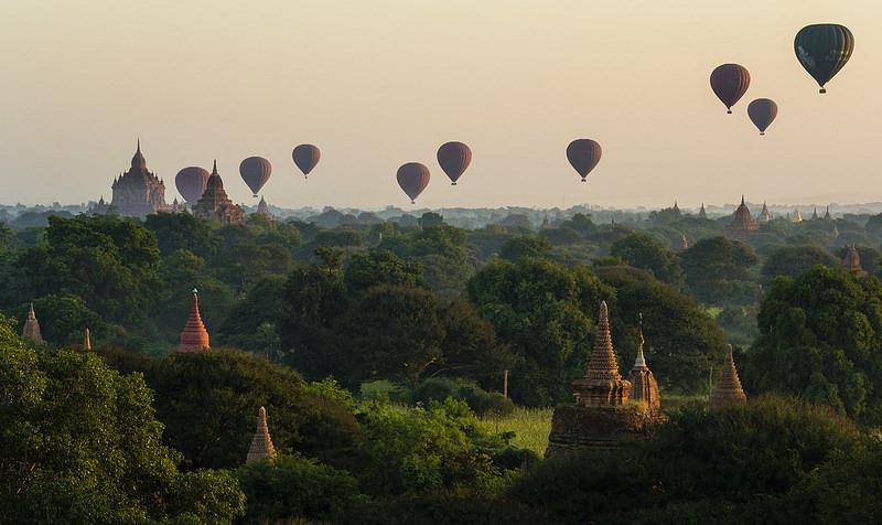 Pagan z Birmie to must-see każdego szanującego się podróżnika