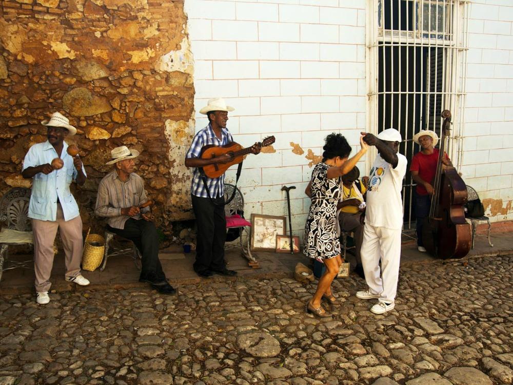 Na Kubie nie sposób opędzić się od muzyki