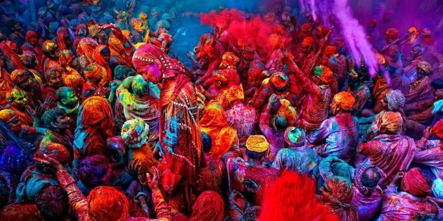 Indie to kolorowy tygiel kulturowy.
