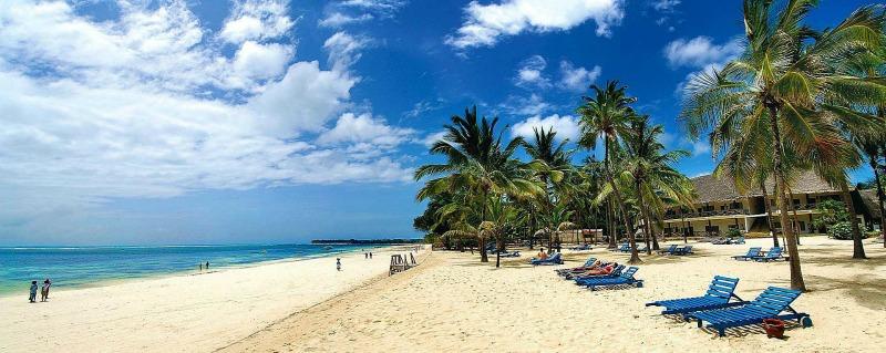 Kenia to nie tylko sawanna, ale też piękne plaże.