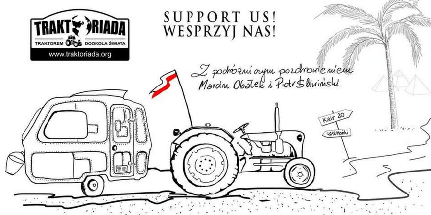 Traktoriada – ekspedycja traktorem dookoła świata 2017!