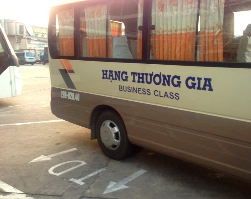 Istnieją trzy rodzaje autobusów w Wietnamie