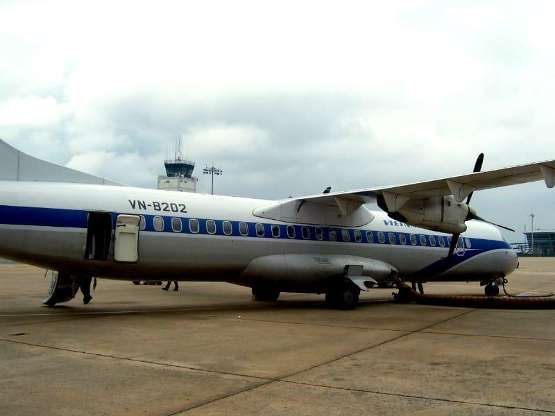 Podróżowanie samolotem w Wietnamie jest bardzo wygodne