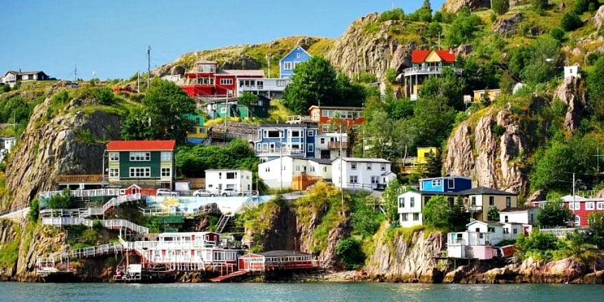St. John's - najbardziej kolorowe miasto Kanady