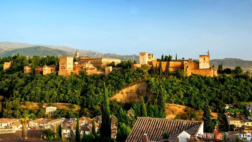 Alhambra, Hiszpania