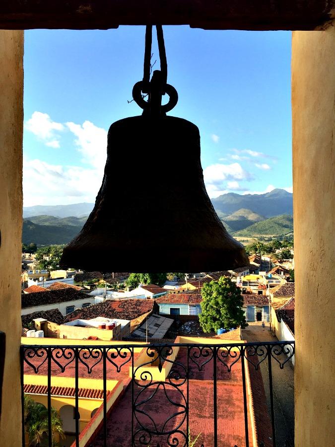 Były klasztor świętego Franciszka z charakterystyczną dzwonnicą, Trynidad
