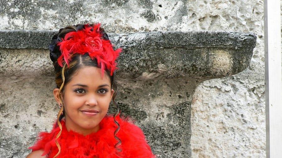 Odświętnie ubrana Kubanka