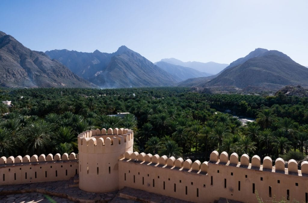 Fort Nakhal w Omanie