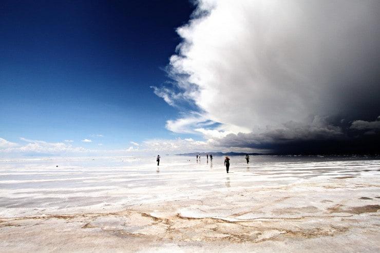 Salar De Uyuni w Boliwii, czyli największa solna pustynia świata fot. Nicholas Leslein