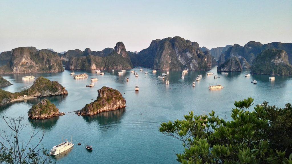 Zatoka Halong Bay, Wietnam