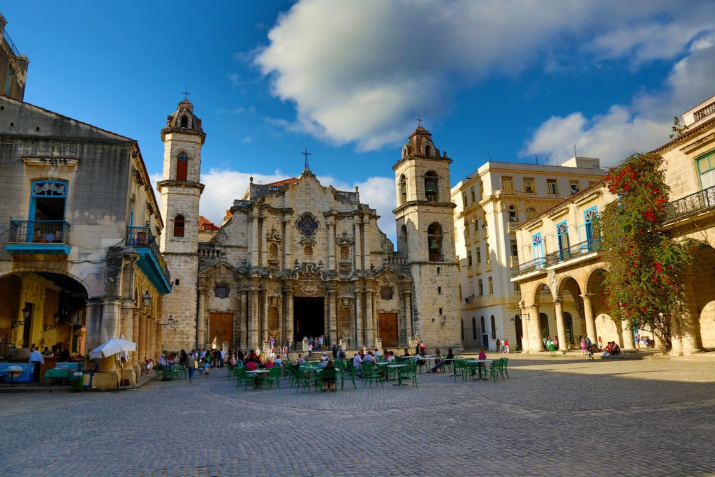 La Havana Vieja, stolica Kuby