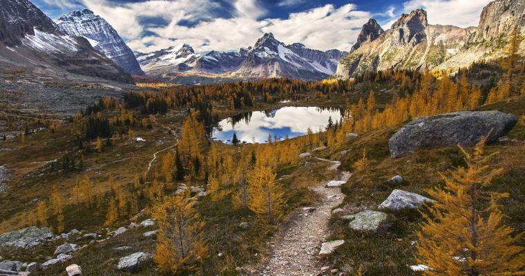 10 najpiękniejszych parków narodowych w Kanadzie